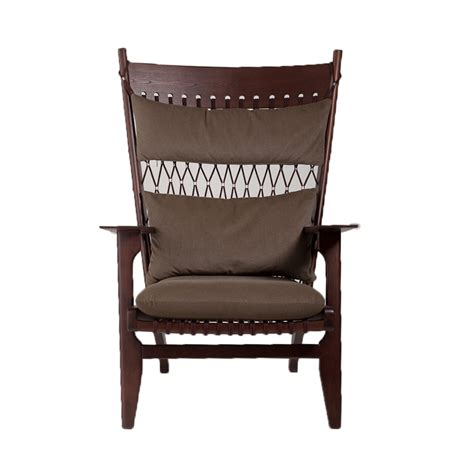 replica armchairs replica hans wegner pp129 rope armchair place furniture