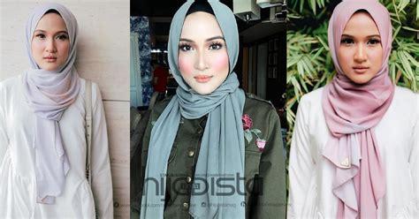 tutorial hijab anak kecil hanis zalikha kongsi tutorial pantas pakai tudung simple