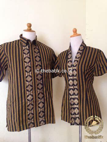Kemeja Tenun Tangan jahit kain batik atau lurik baju kemeja dress thebatik co id