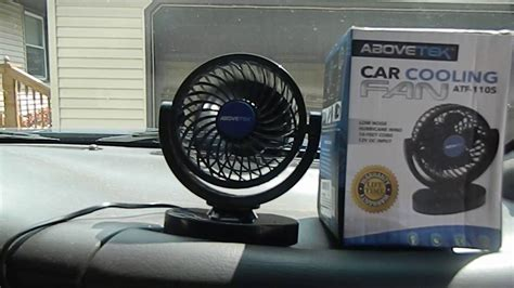 in car fan abovetek 12v dc car cooling fan