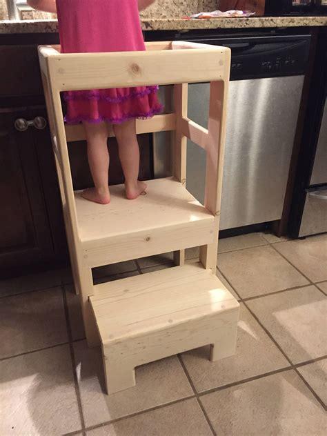 Childrens Kitchen Step Stool by Pine Children S Kitchen Play Helper Step Stool