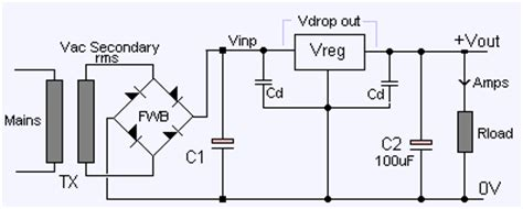 regulator smoothing capacitor voltage regulator smoothing capacitor value v2