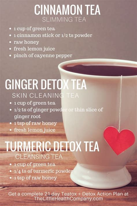 Healthy Skin Detox Tea by Best 20 Honey Cinnamon Detox Ideas On