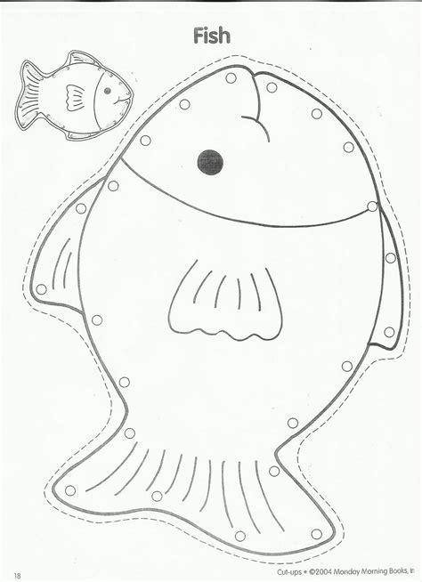 fish pattern for kindergarten best photos of preschool fish pattern printable fish