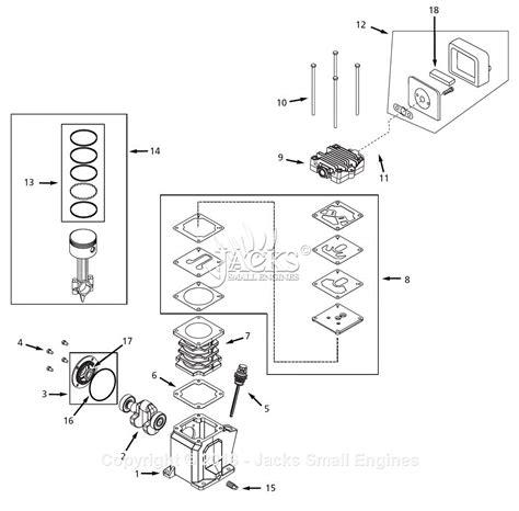 campbell hausfeld jrd parts diagram  pump parts