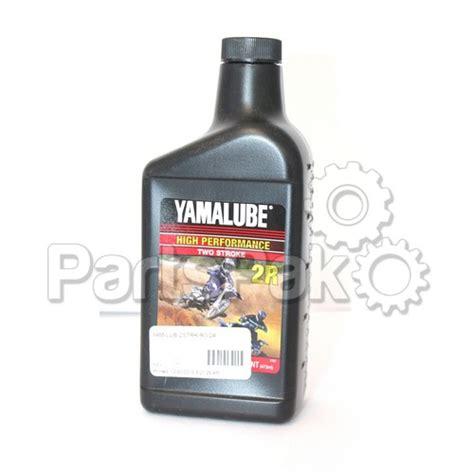 Yamaha Lub 2strk R1 24 Yamalube 2r Race 2 Stroke Oil Pint