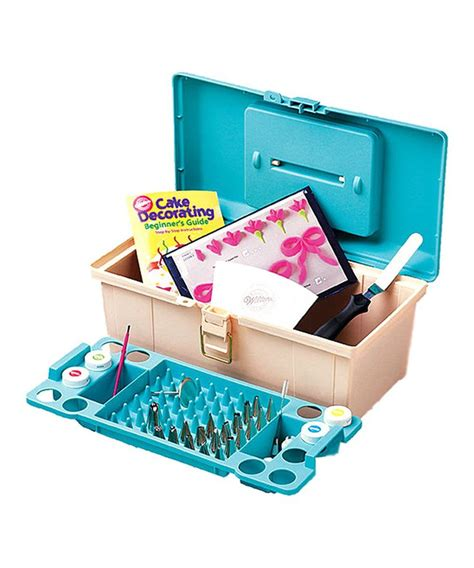 Cake Decorating Caddy by Wilton 50 Cake Decorating Tool Caddy Set