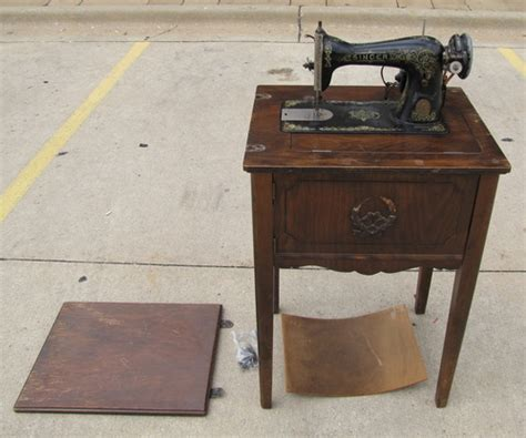 antique singer sewing machine rockford style 10 from
