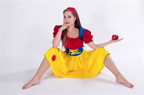 Handmade Snow White Costume - snow white costume dress custom made to measure plus