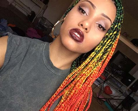 braids with color 35 awesome box braids hairstyles you simply must try