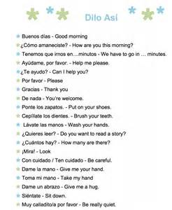 Common spanish phrases to use with kids a printable list spanish