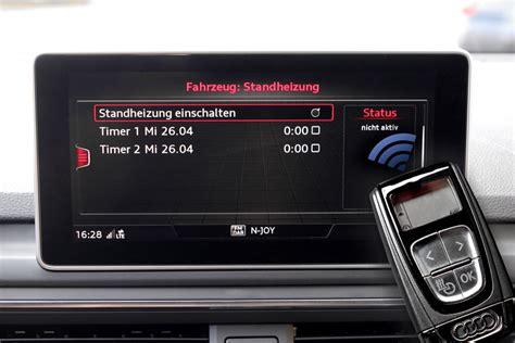 Standheizung Audi A4 by Nachr 252 St Set Standheizung F 252 R Audi A4 8w