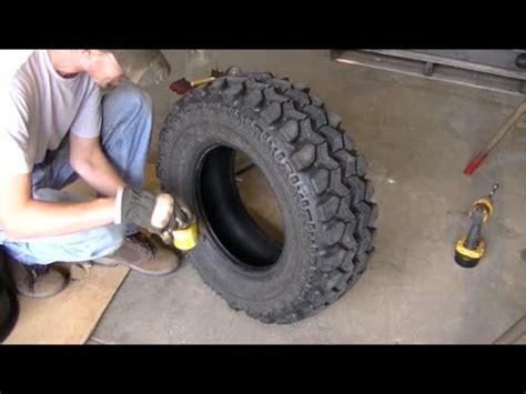 polaris ranger tire repair plug patch install youtube