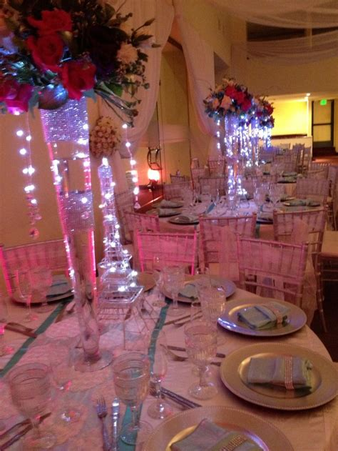 quinceanera centerpieces ideas for tables quinceanera light up centerpiece quincenera wedding flower and centerpieces