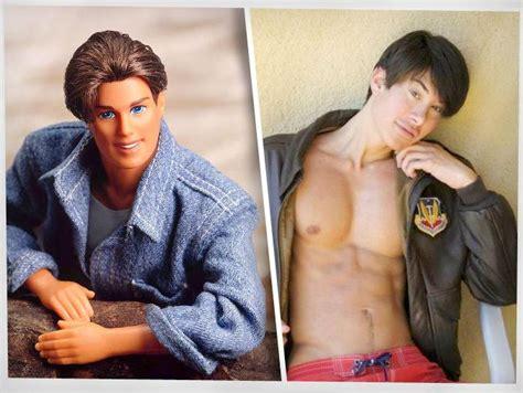 human ken doll before and after human ken doll a body artist extremist daniel azwan