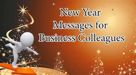 new year messages for business colleagues short business