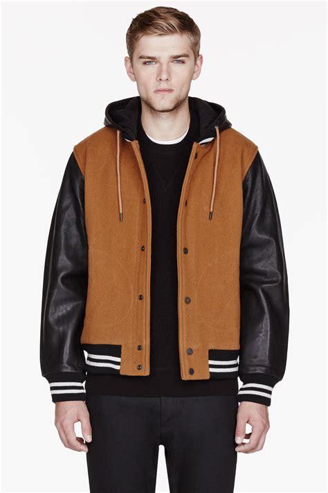Jaket Varsity Brown brown varsity jacket jacket to