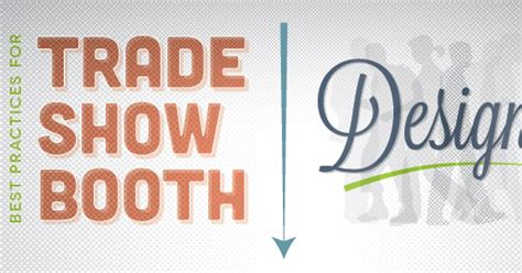 booth design best practices best practices for trade show booth design infographic