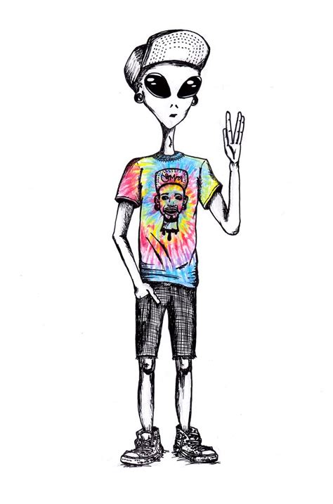 imagenes hipster alien outta this world by spacira on tumblr art alien trippy