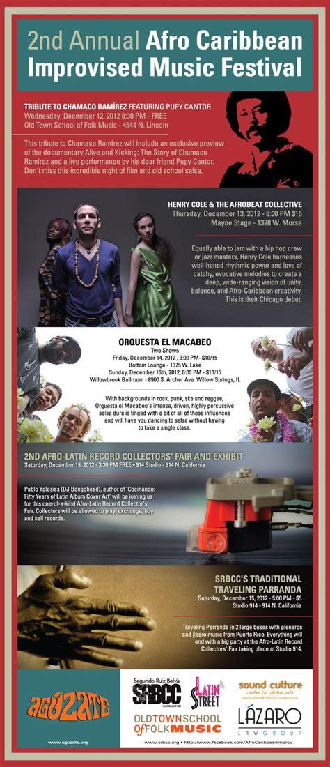 bongohead  annual afro caribbean improvised  festival