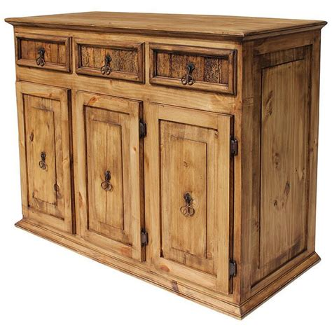 Solid Oak Kitchen Cabinets Sale rustic pine collection small classic cabinet com04