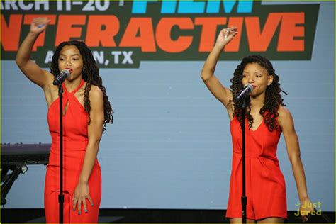 chloe and halle bailey movies chloe halle perform this is for my girls at sxsw