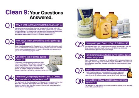 What Is Forever Living Clean 9 Detox by Post The Aloe Premises