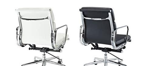 Sleek Lexington Modern Mid Back Leather Office Chair