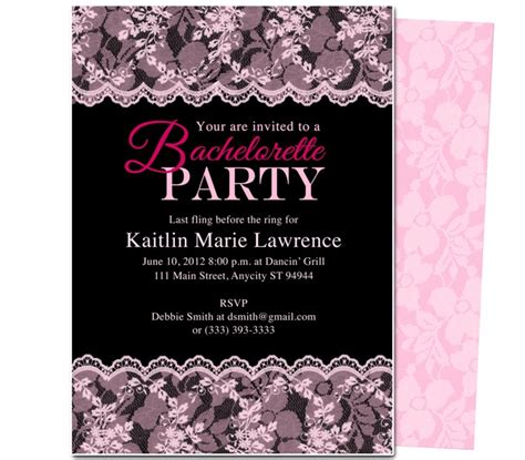 bachelorette invitation templates bachelorette invitation templates theruntime