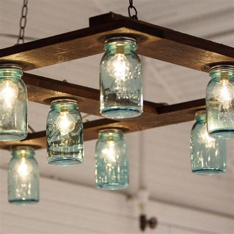 Hanging Mason Jar Light Fixture Everything Home Light Jars
