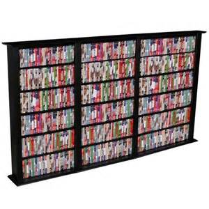 Dvd Rack Wall Venture Horizon Triple 50 Quot Cd Dvd Wall Rack Media Storage