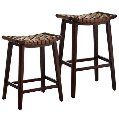 Brown Backless Bar Stools by Brown Keating Backless Bar Counter Stools Woodland