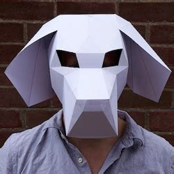 3d mask template pictures to pin on pinterest pinsdaddy