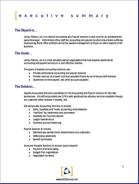 Standard Business Proposal Template Proposal Sample Heres A Typical Project Proposal