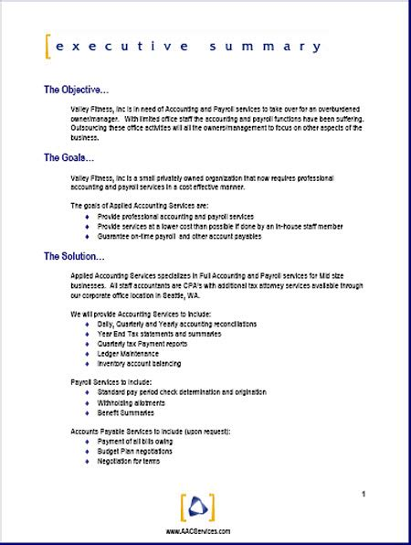 writing proposals template sle business sle here s a