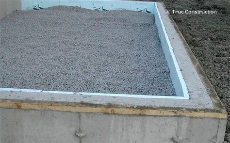 fondation pour garage les murs de fondation