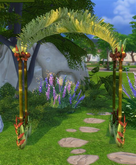 Wedding Arch In Sims 3 by My Sims 4 Castaway Stories Wedding Arch By Biguglyhag