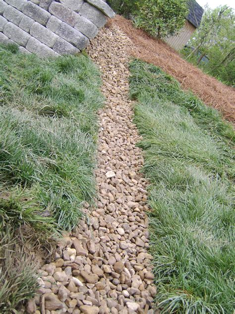 dry creek bed for drainage dry creek bed drainage middle tn nashville