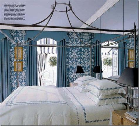 hollywood regency bedroom blue and white hollywood regency style bedroom designed by