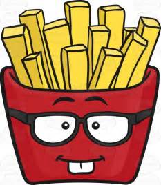A Red Colored Root Vegetable - nerdy red pack of french fries emoji cartoon clipart