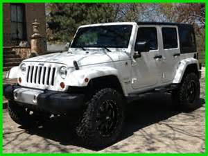 2013 jeep wrangler unlimited white 4 quot lift black