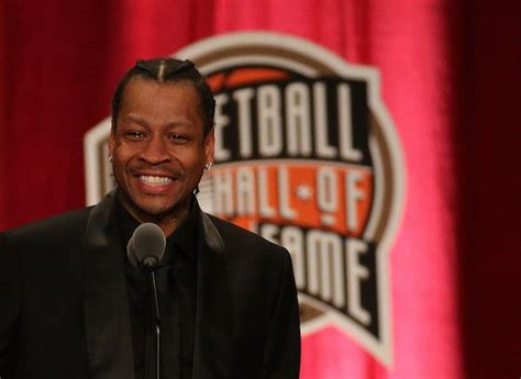 Allen Iverson Criminal Record Allen Iverson S Of Fame Speech Might Bring Tears Of To Your