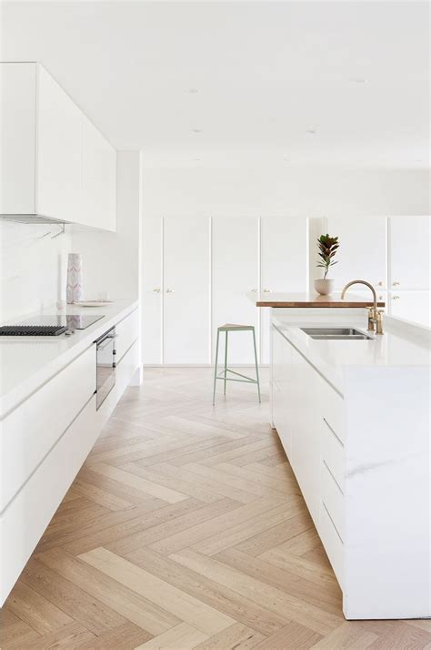 modern kitchen flooring 25 best ideas about herringbone floors on