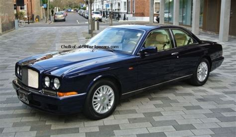 used bentley coupe 1999 bentley continental r a car photo and specs