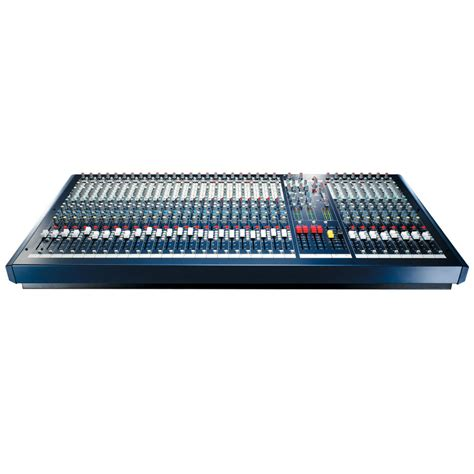 audio mixing console soundcraft lx7ii 24 audio mixing console
