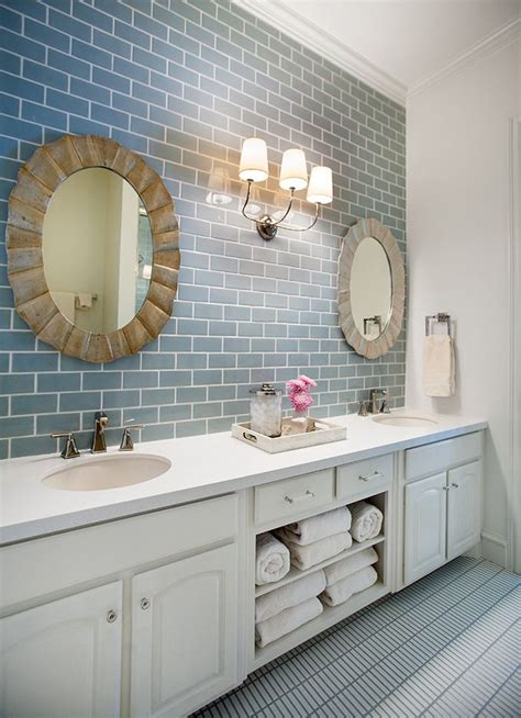blue subway tile bathroom house of turquoise tracy hardenburg designs blue subway