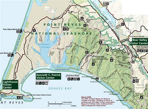 point reyes national seashore map point reyes