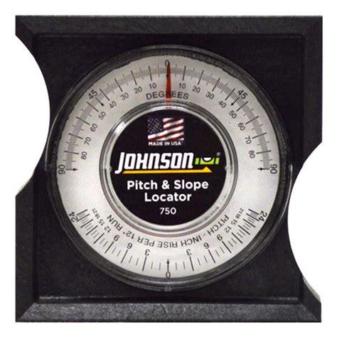 slope level johnson level pitch slope locator 750 engineersupply