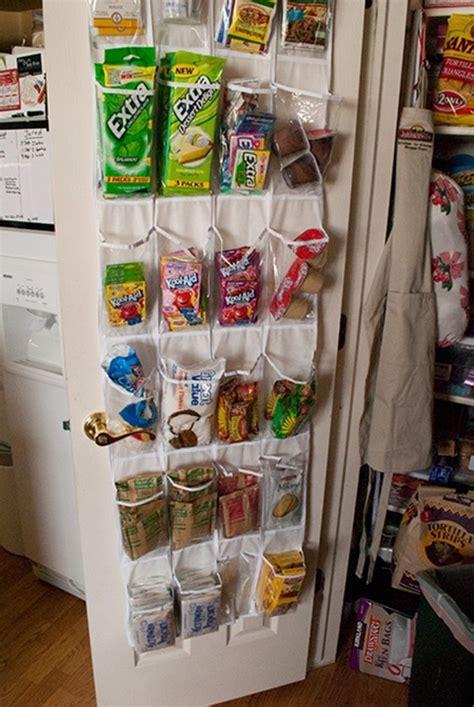 Pantry Snack Organizer by 20 Back Of Door Storage Ideas