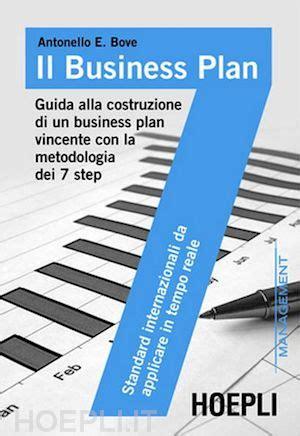 business plan libreria il business plan bove antonello e hoepli libro